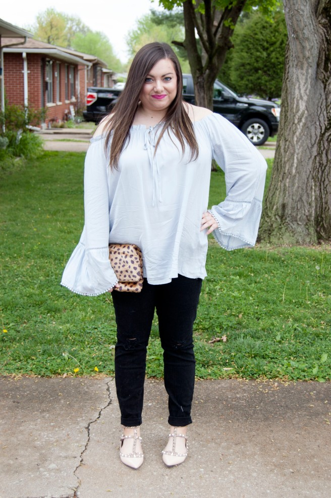 Bell Sleeve Top 3